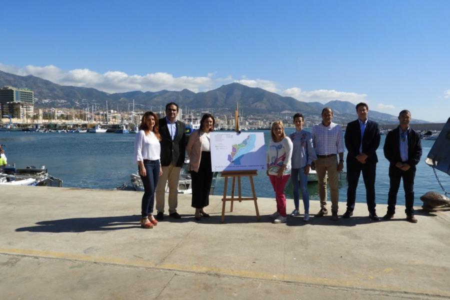 Mancomunidad Mancomunidad Acosol inaugura el servicio de embarcaciones para el control de calidad de las aguas en el litoral durante los meses de verano