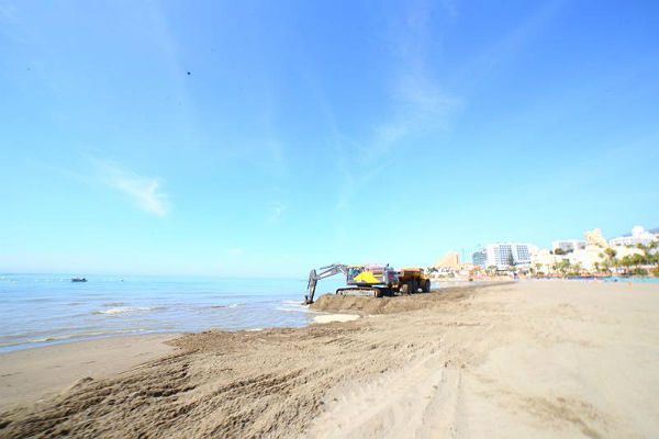 Benalmadena Benalmadena La Concejalía de Playas de Benalmádena trabaja en la mejora en los accesos a la Playa de Torrebermeja y al Centro de Vigilancia y Socorrismo
