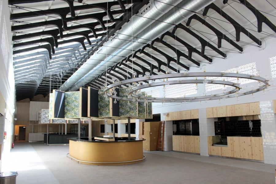 Estepona Estepona Concluyen las obras del mercado gourmet de San Luis de Estepona, que abrirá al público la próxima semana