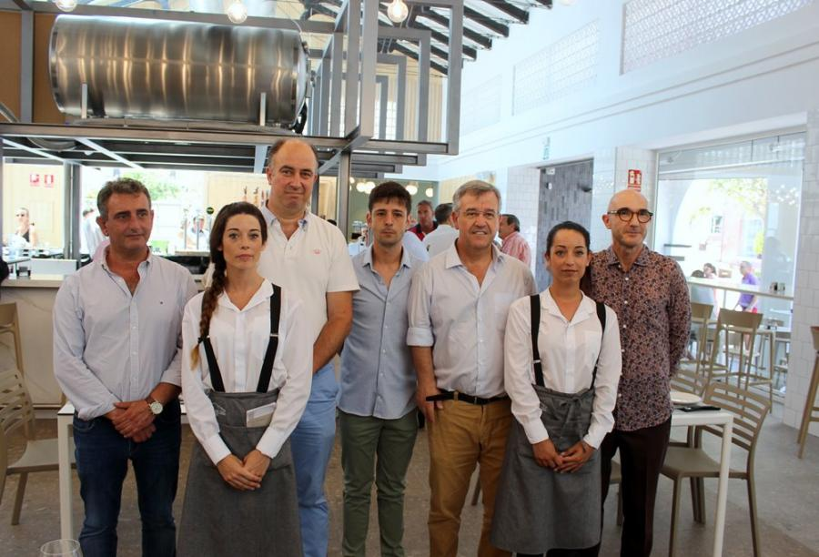Estepona Estepona El mercado gourmet de San Luis abre sus puertas como complemento gastronómico al  proyecto 'Jardín de la Costa del Sol'