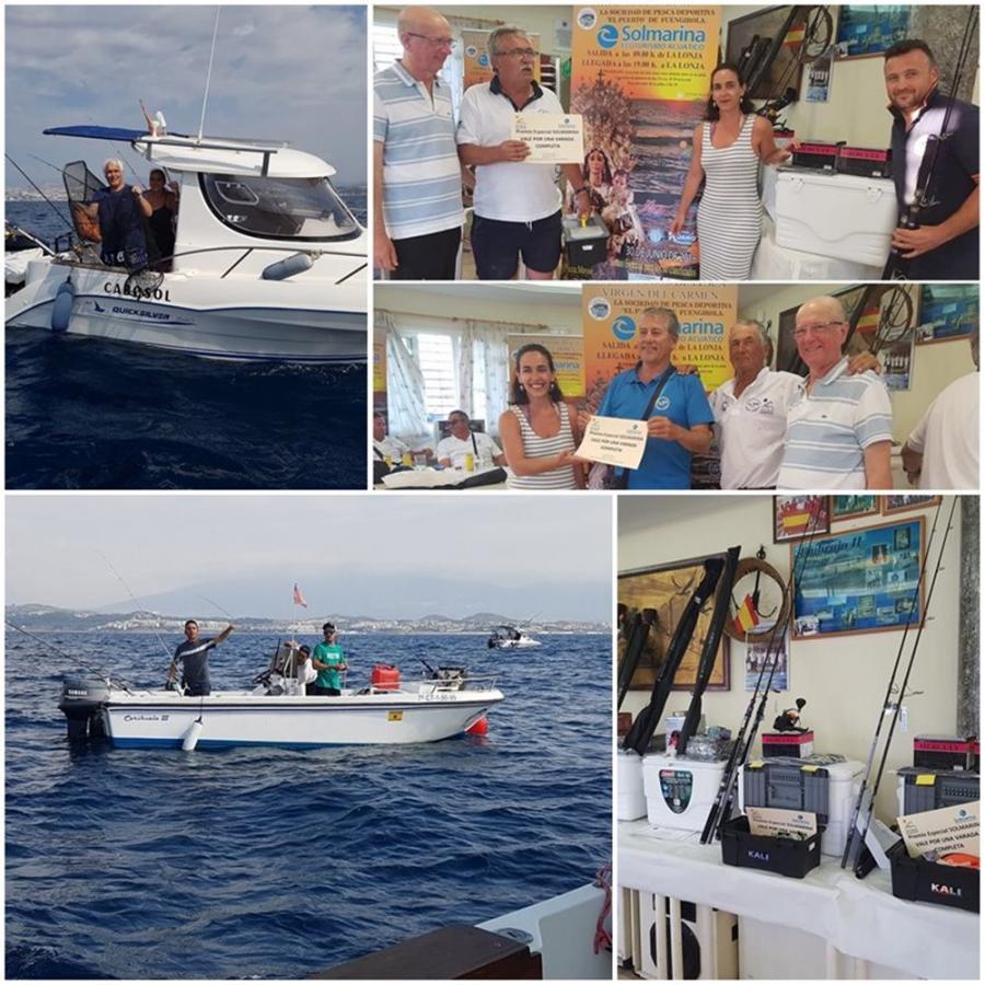 """Mancomunidad Mancomunidad Un total de 71 pescadores y 34 embarcaciones han participado en el XX Concurso de Pesca """"Trofeo Virgen del Carmen"""" de Fuengirola organizado en colaboración con Mancomunidad"""
