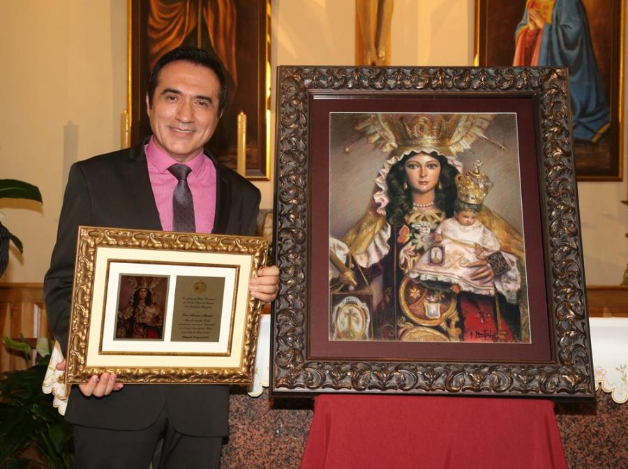 Fuengirola Fuengirola Una obra del pintor y retratista, Antonio Montiel, anuncia la Solemnidad de Nuestra Señora del Carmen de Fuengirola 2018
