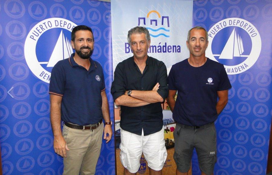 Benalmadena Benalmadena El Puerto Deportivo de Benalmádena patrocinará el velero de Javier Banderas en la 37ª Copa del Rey de Vela