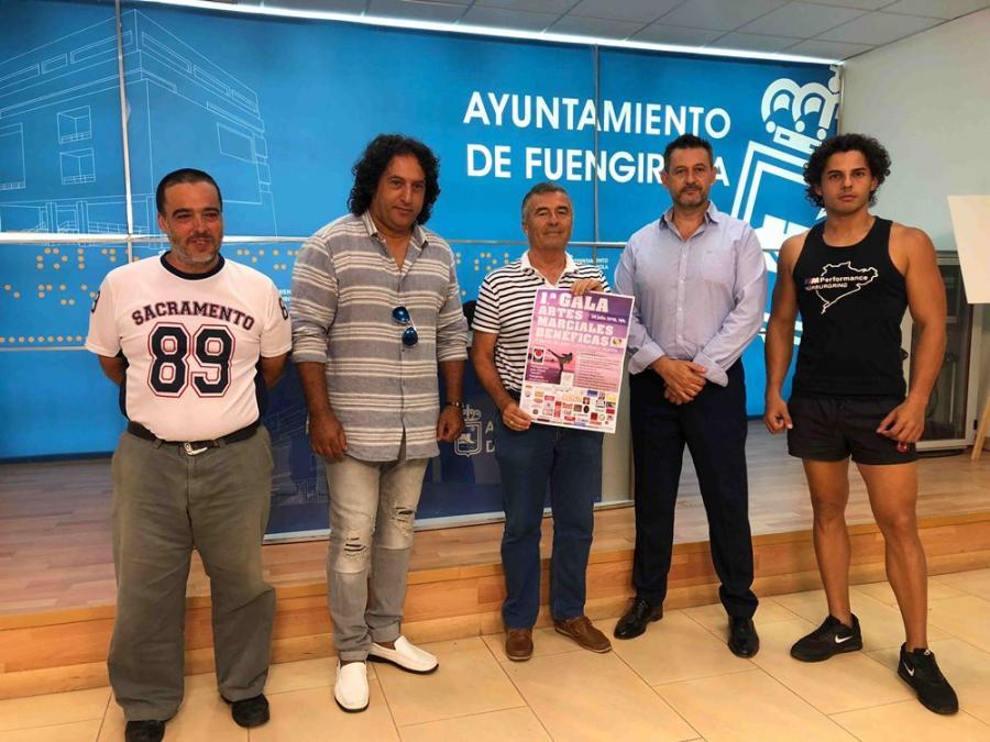 Fuengirola Fuengirola Gala Benéfica de Artes Marciales en beneficio del fuengiroleño Juan Carlos Mena el próximo sábado 28 de julio