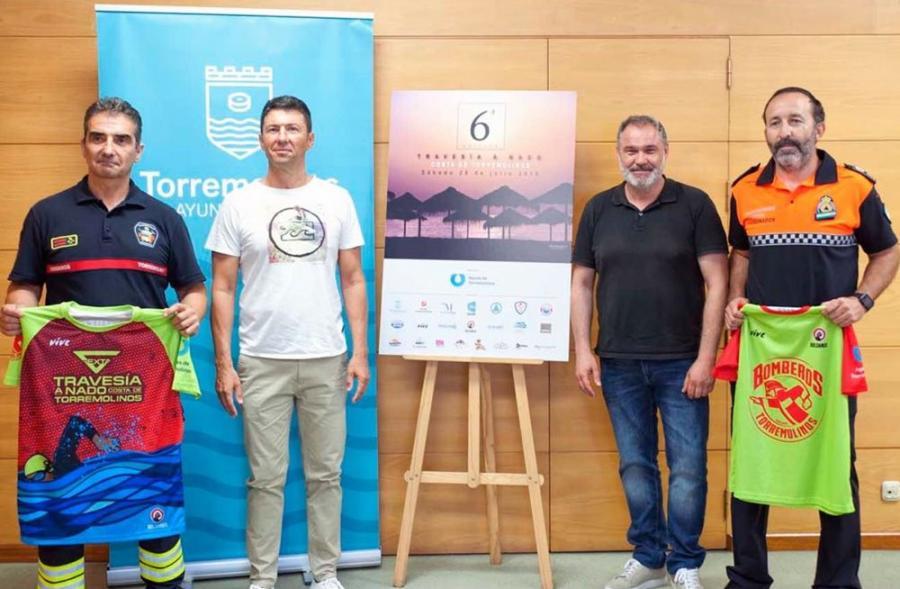 Torremolinos Torremolinos Hasta 228 inscritos en la sexta edición de la Travesía a Nado de Torremolinos organizada por los bomberos del municipio