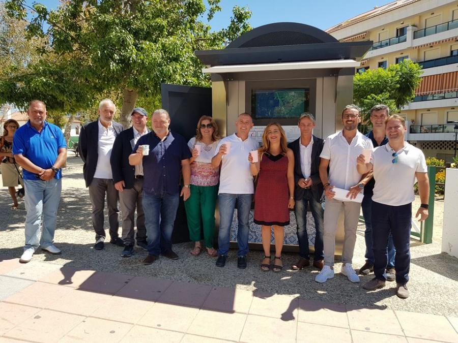 Actualidad Actualidad Sabinillas cuenta con un nuevo servicio expendedor de agua pionero en España