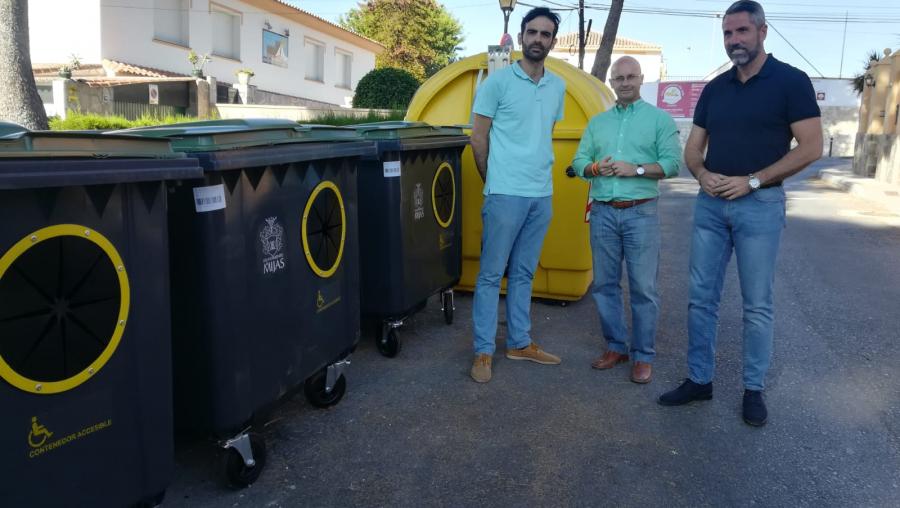 Mijas Mijas Mijas se convierte en el primer municipio de la provincia en adaptar los contenedores a personas con movilidad reducida