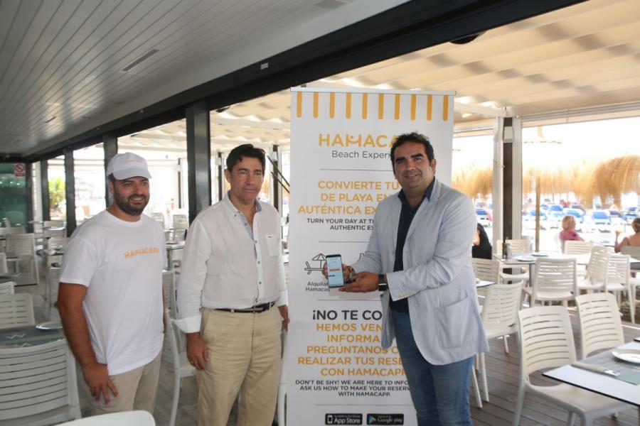 Marbella Marbella Hamacapp, la nueva aplicación para alquilar hamacas desde el móvil en Marbella