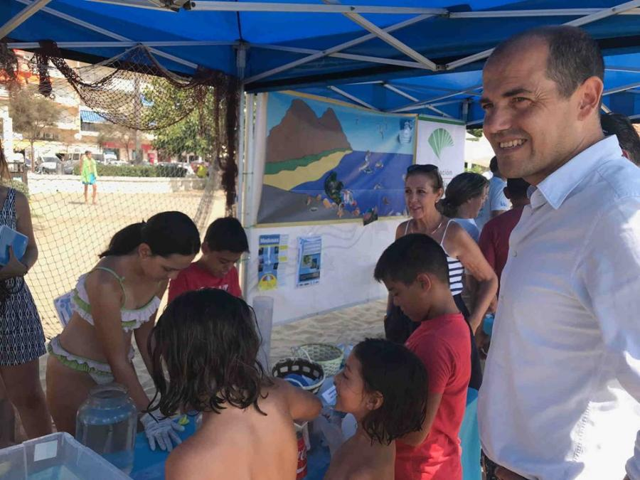 Fuengirola Fuengirola La playa de Los Boliches de Fuengirola acoge el XI Laboratorio Marino Itinerante