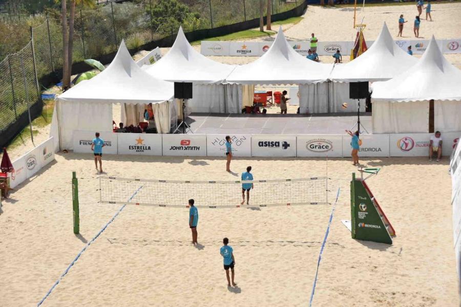 Fuengirola Fuengirola Fuengirola acogerá hasta el 2 de septiembre el Campeonato de España de Vóley Playa Reserva del Higuerón Resort