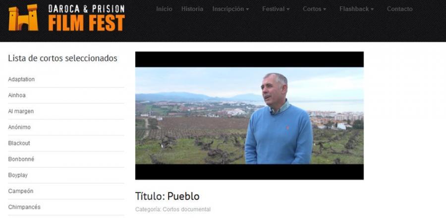 """Actualidad Actualidad El corto """"Pueblo"""" producido y realizado en Manilva opta al premio sección oficial de corto- documental 2018 del Festival Internacional Online de Cine de Daroca"""
