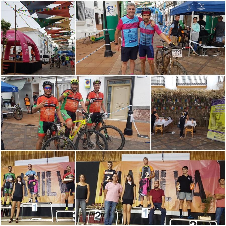 Actualidad Actualidad Unos 290 ciclistas han participado en la V Maratón BTT de la Vendimia de Manilva sobre un sinuoso recorrido de 57 kilómetros en el que la lluvia fue protagonista