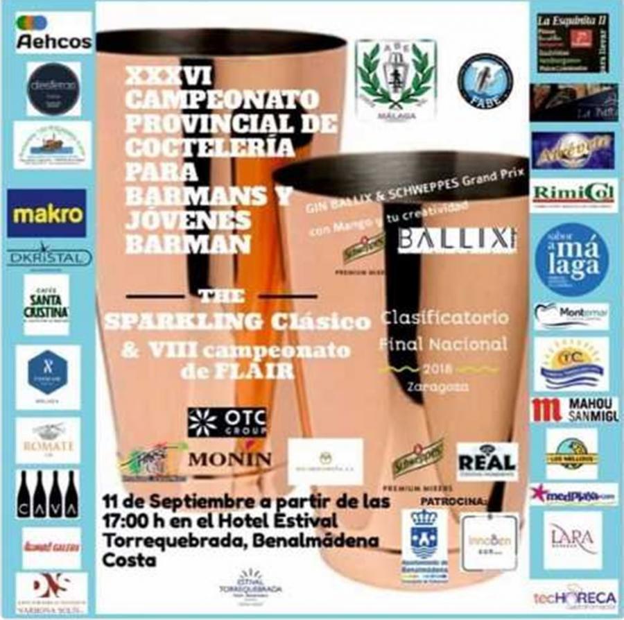 Benalmadena Benalmadena El hotel Estival Torrequebrada acoge el XXXVI Campeonato Provincial de Coctelería para Barmans y Jóvenes Barmans en Benalmádena