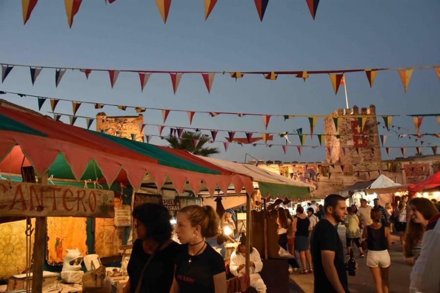 Fuengirola Fuengirola El Castillo Sohail acoge desde mañana hasta el domingo el XV Mercado Medieval, uno de los más importantes de España