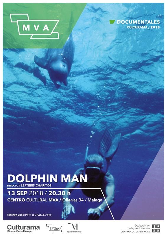Malaga Malaga El filme 'Dolphin Man' inaugura una nueva temporada del ciclo Documentales MVA