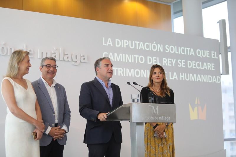 Actualidad Actualidad La Diputación inicia el expediente para que el Caminito del Rey sea declarado Patrimonio de la Humanidad