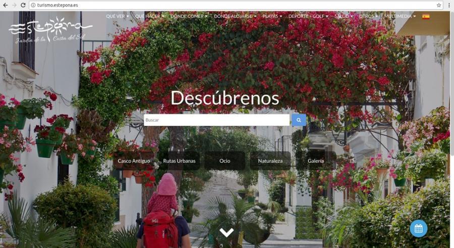 Estepona Estepona El Ayuntamiento de Estepona renueva la web de Turismo para mejorar el servicio a los usuarios y la promoción de la ciudad