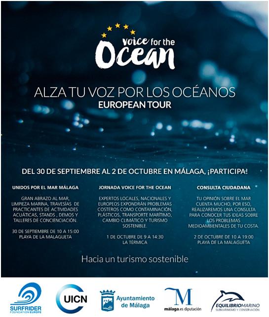 Malaga Malaga La Diputación apoya la campaña europea para la protección de los océanos