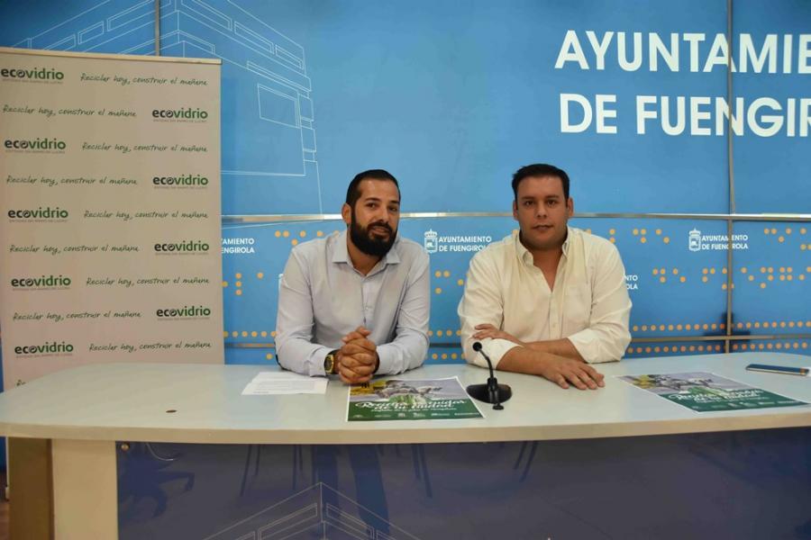 Fuengirola Fuengirola El Ayuntamiento de Fuengirola y Ecovidrio impulsan una campaña para fomentar el reciclaje de vidrio durante la Feria del Rosario