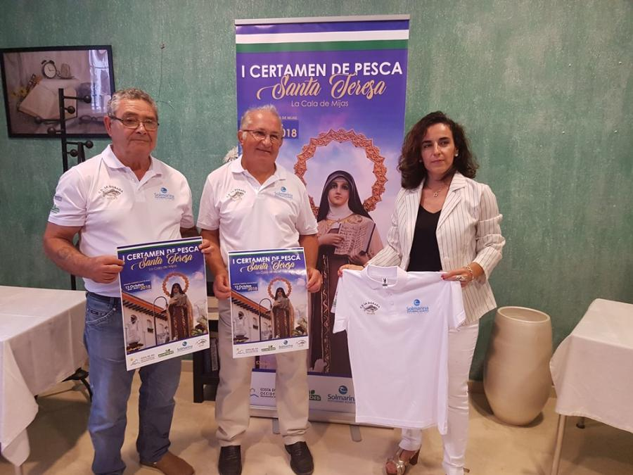 Mijas Mijas El Club Deportivo La Dorada organiza el I Certamen de Pesca Santa Teresa este sábado 13 de octubre con el apoyo de la Mancomunidad y Solmarina Ecoturismo Acuático