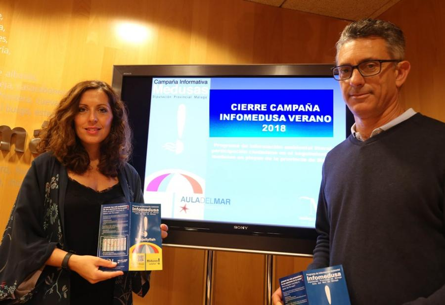 Malaga Malaga Unas 125.000 personas han usado la aplicación Infomedusa durante este verano