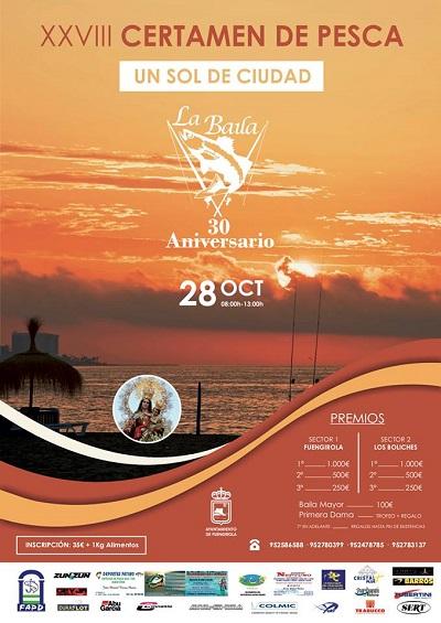 """Fuengirola Fuengirola La playa de Fuengirola acoge este domingo el XXVIII Concurso de Pesca """"Un sol de Ciudad"""" organizado por el Club de Pesca Deportiva La Baila"""
