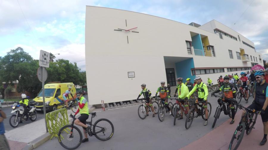 Torremolinos Torremolinos Torremolinos acogió la novena etapa de la Cycling Tour Costa del Sol en la que participaron cerca de 200 cicloturistas