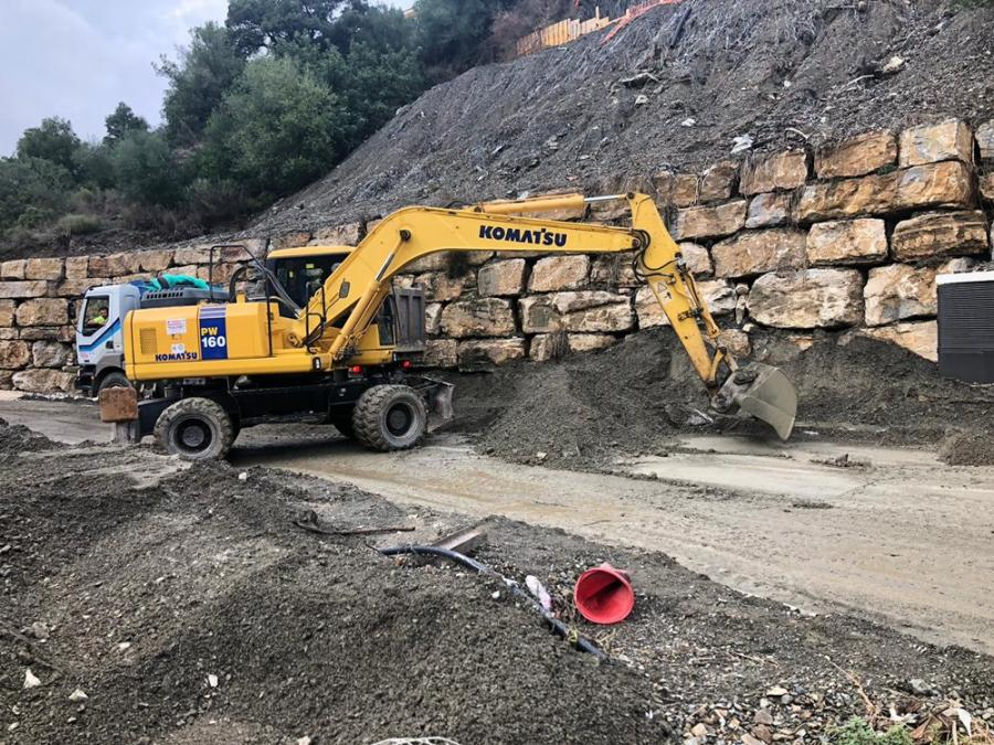 Estepona Estepona El Ayuntamiento de Estepona trabaja en elaborar los proyectos para licitar las obras de mayor envergadura en caminos rurales afectados por lluvias