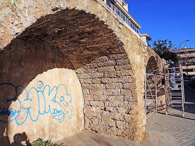 Benalmadena Benalmadena Aprobada la rehabilitación del acueducto de la calle Ciudad de Melilla y de su entorno en Benalmádena