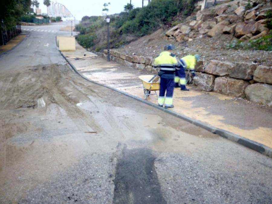 Actualidad Actualidad El Ayuntamiento de Casares cifra en 159.262,38 euros  los daños del temporal del pasado 21 de octubre