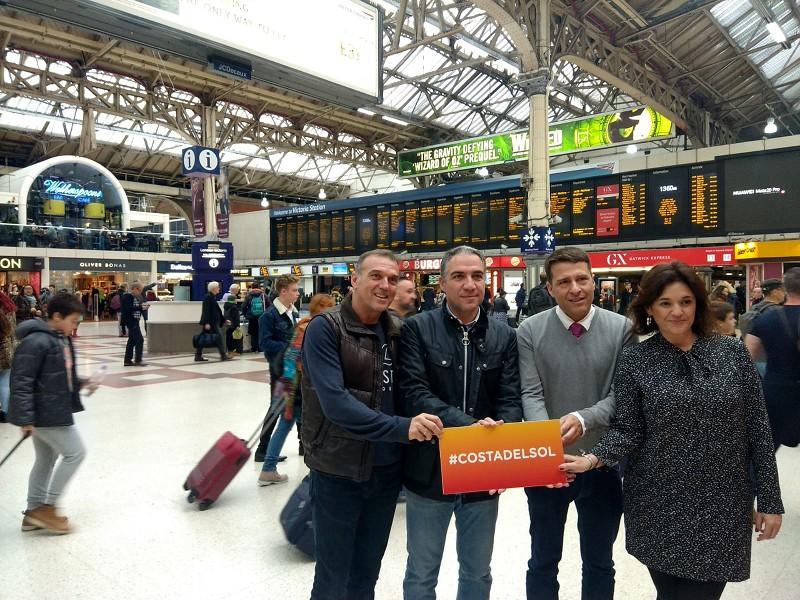Actualidad Actualidad La Costa del Sol realiza una potente acción directa al consumidor en el corazón de Londres que llegará a un millón potenciales viajeros