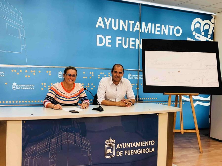 Fuengirola Fuengirola El Ayuntamiento de Fuengirola saca a licitación pública la remodelación integral de la calle Viñuela superado el obstáculo de una tubería de Acosol