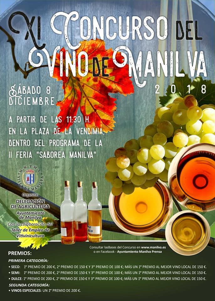 """Actualidad Actualidad El 8 de diciembre se celebra el XI Concurso del Vino 2018 dentro de """"Saborea Manilva"""""""
