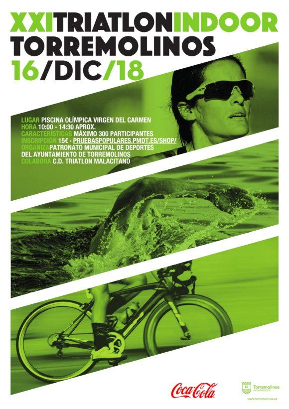 Torremolinos Torremolinos Torremolinos convoca el XXI Triatlón Indoor, la competición más antigua de España de la modalidad