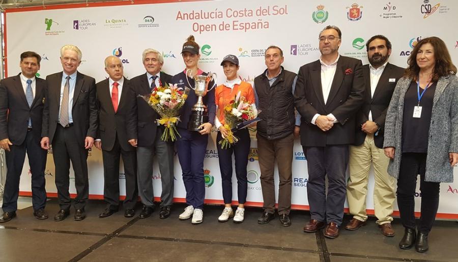 Mancomunidad Mancomunidad Anne Van Dam amplía su idilio español ganando el Andalucía Costa del Sol Open de España Femenino 2018