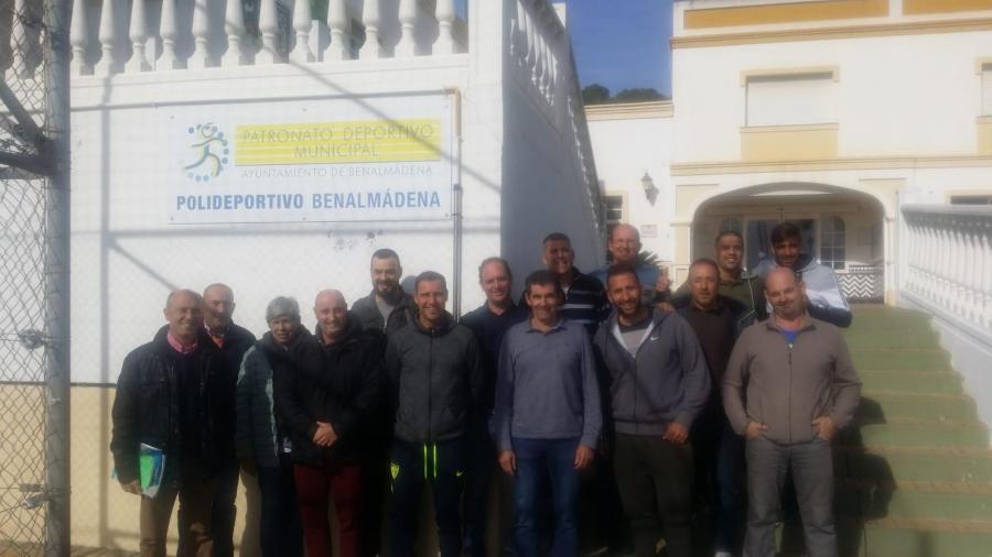 Mancomunidad Mancomunidad Hoy ha finalizado el curso de Mantenimiento Higiénico Sanitario en Instalaciones de Riesgo frente a la Legionella  organizado por la Mancomunidad en Benalmádena