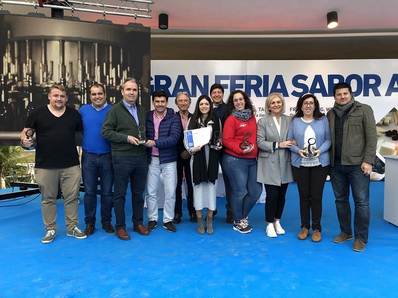 Malaga Malaga Las bodegas y queserías premiadas por 'Sabor a Málaga' recogen sus galardones en la Gran Feria que la marca celebra en el Paseo del Parque
