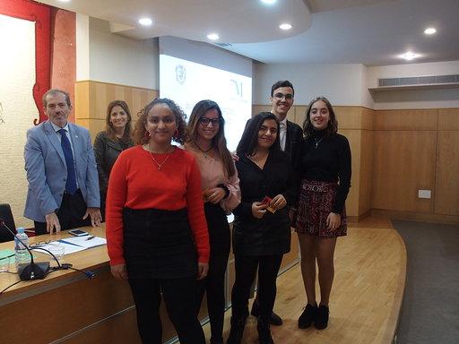 Estepona Estepona El IES Mar de Alborán de Estepona gana el concurso escolar de cortos contra la violencia de género 'Por un buen rollo 2018'