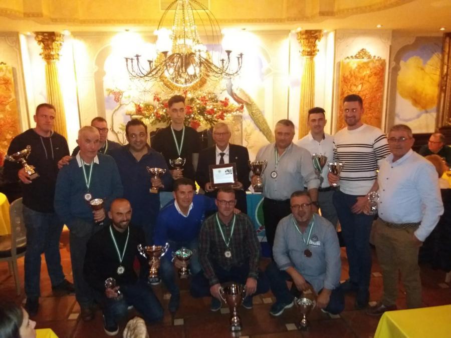 Marbella Marbella La Sociedad de Pesca Deportiva de Marbella celebró su Cena de Fin de Temporada con la entrega de los trofeos a los vencedores de los distintos torneos del 2018