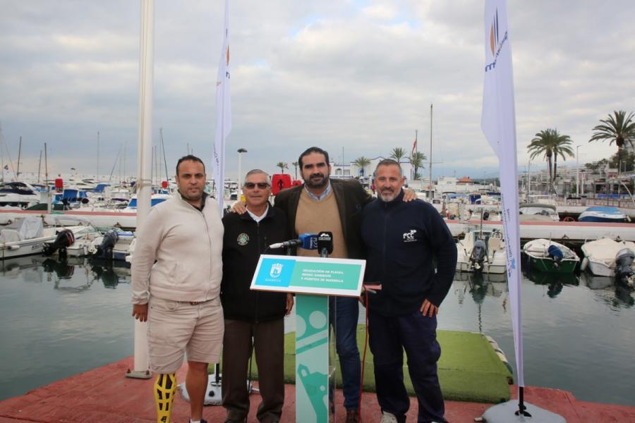 Marbella Marbella El Ayuntamiento de Marbella firma sendos acuerdos de colaboración y patrocinio con el Club de Pesca Deportiva y el Club Kayak de Marbella
