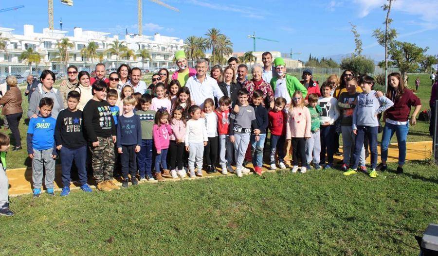 Estepona Estepona El Ayuntamiento de Estepona inauguró una zona verde de 26.000 metros cuadrados en Cancelada