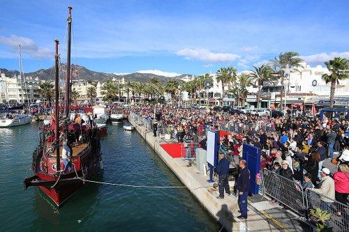 Benalmadena Benalmadena Cuenta atrás para el desembarco y recibimiento de los Reyes Magos en el Puerto Deportivo de Benalmádena