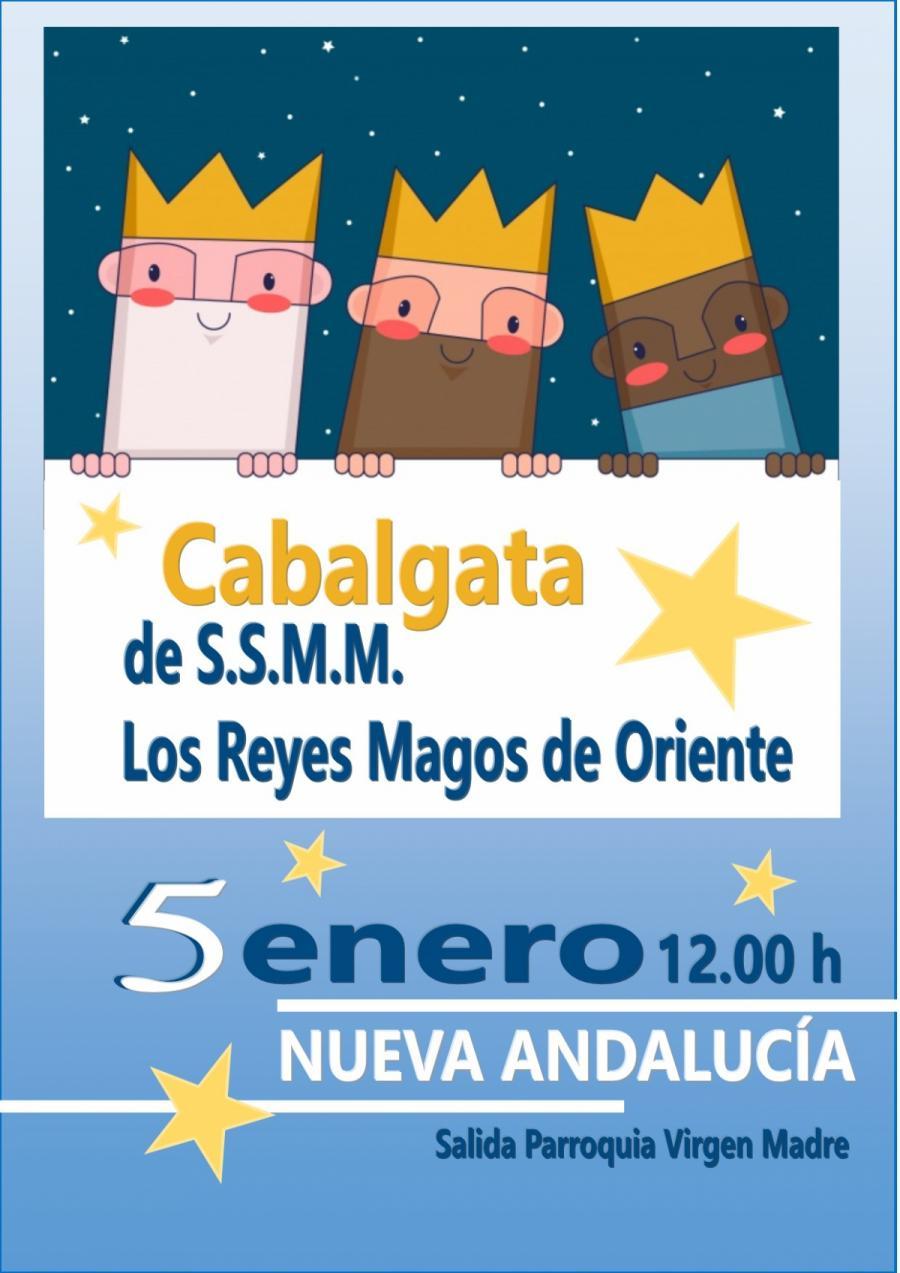 Marbella Marbella La cabalgata de los Reyes Magos recorrerá las calles de Nueva Andalucía en la mañana del sábado
