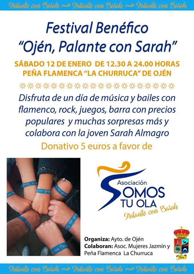 Actualidad Actualidad El Ayuntamiento de Ojén organiza este sábado un festival benéfico para recaudar fondos para la joven marbellí Sarah Almagro