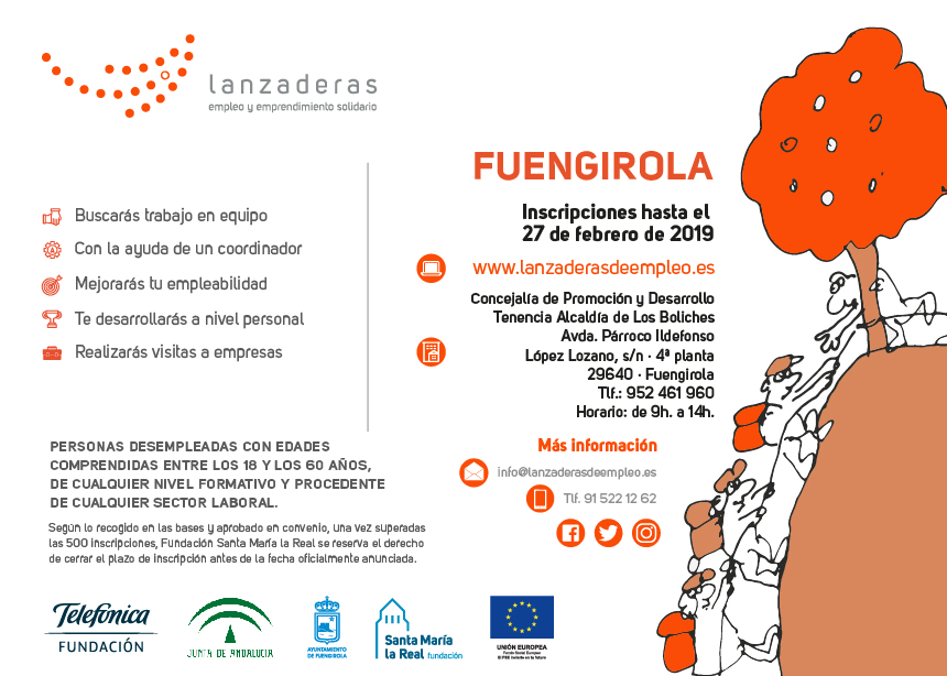 Fuengirola Fuengirola Fuengirola contará en marzo con una nueva lanzadera para mejorar la inserción laboral de 20 personas