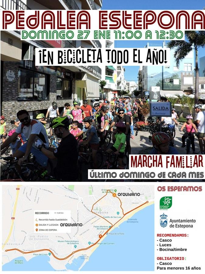 Estepona Estepona El Ayuntamiento de Estepona organizará marchas cicloturistas cada mes para fomentar el uso de la bicicleta en la ciudad