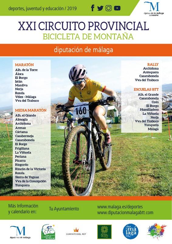Ronda Ronda El Circuito Provincial de BTT Diputación de Málaga arranca este sábado en Ronda