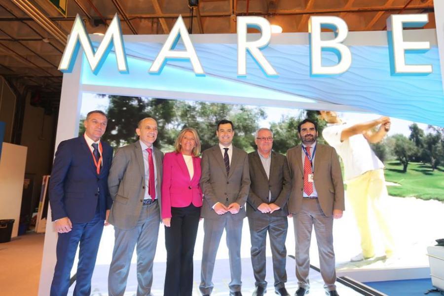 """Marbella Marbella El presidente andaluz destaca """"la excelencia de la oferta turística de Marbella y su contribución como marca de España"""""""