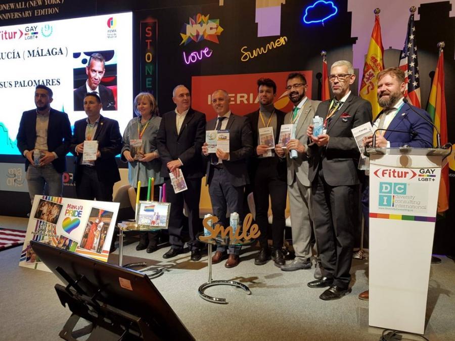 """Actualidad Actualidad Las Guía de Turismo Friendly y """"Gastroturismo"""" de Málaga y Provincia se presentaron en los estands de la Costa del Sol y  Fitur LGBT 2019"""