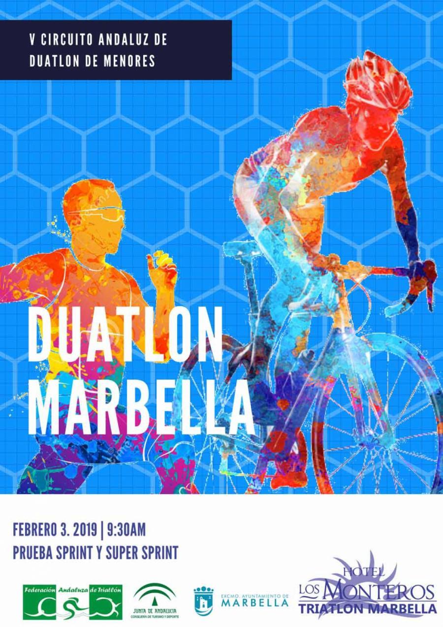 Marbella Marbella El XVIII Duatlón Ciudad de Marbella se celebrará este domingo 3 de febrero en el Paseo Marítimo de San Pedro Alcántara
